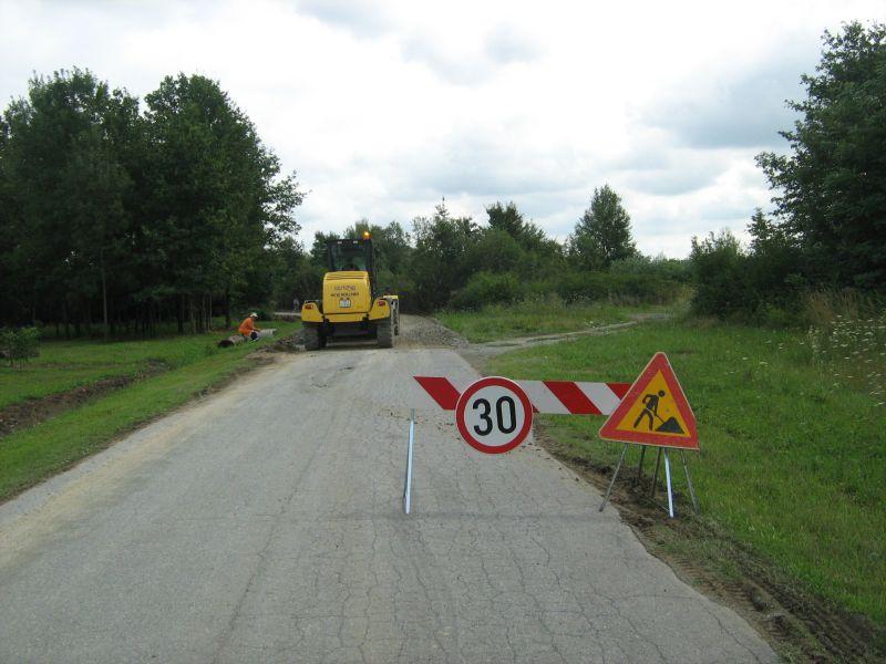 Cesta Brezovljani-Rajino Polje