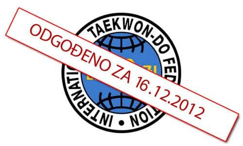 taekwondo turnir u Čačincima